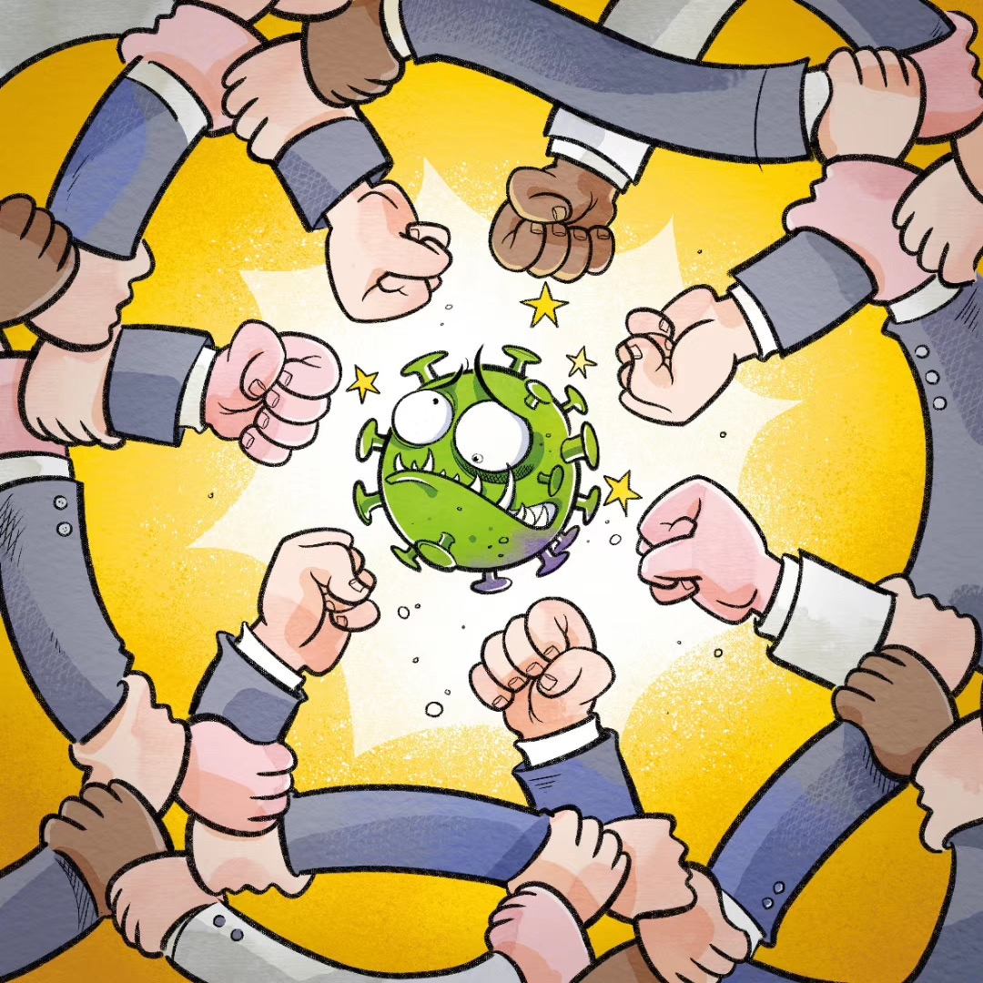 A call for unity, action: COVID-19 and principles of responsibility, hope - Opinion - Chinadaily.com.cn