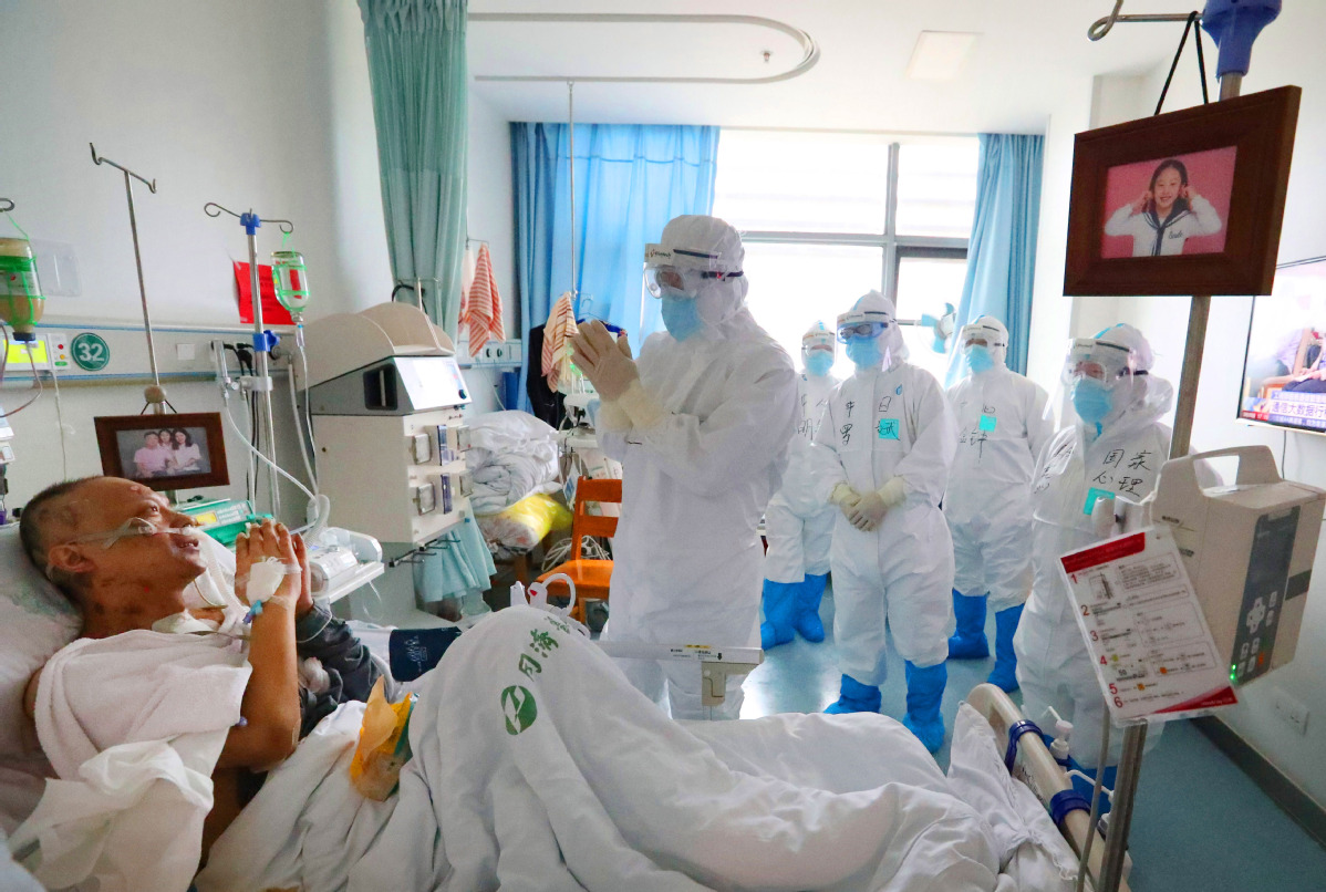 Doctors recovering from COVID-19 with Beijing team's help ...