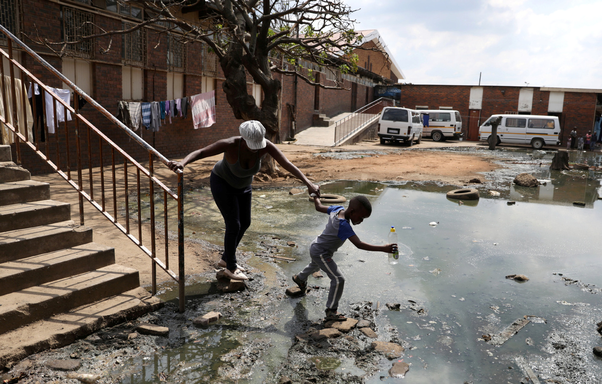 Alexandra África Not English Porn clean water key to african virus effort - world - chinadaily
