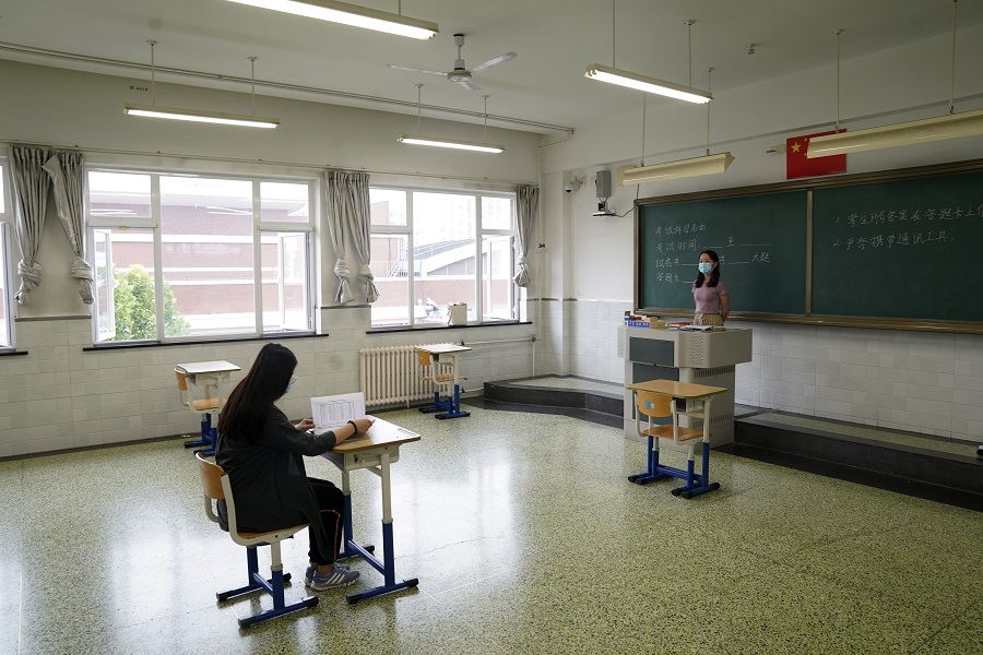 Strict Anti Epidemic Measures For Beijing College Entrance Exam Chinadaily Com Cn