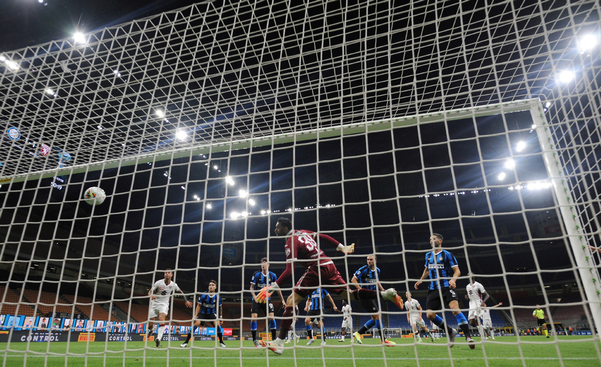 Inter beats Torino 3-1, moves into 2nd place in Serie A - Chinadaily.com.cn