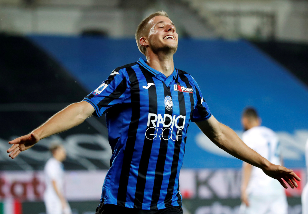 Pasalic hat-trick helps Atalanta go second in Serie A - Chinadaily.com.cn