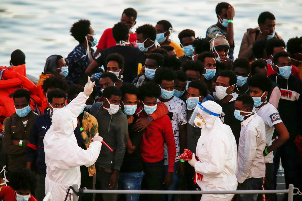Pandemic making Europe's migrant crisis worse