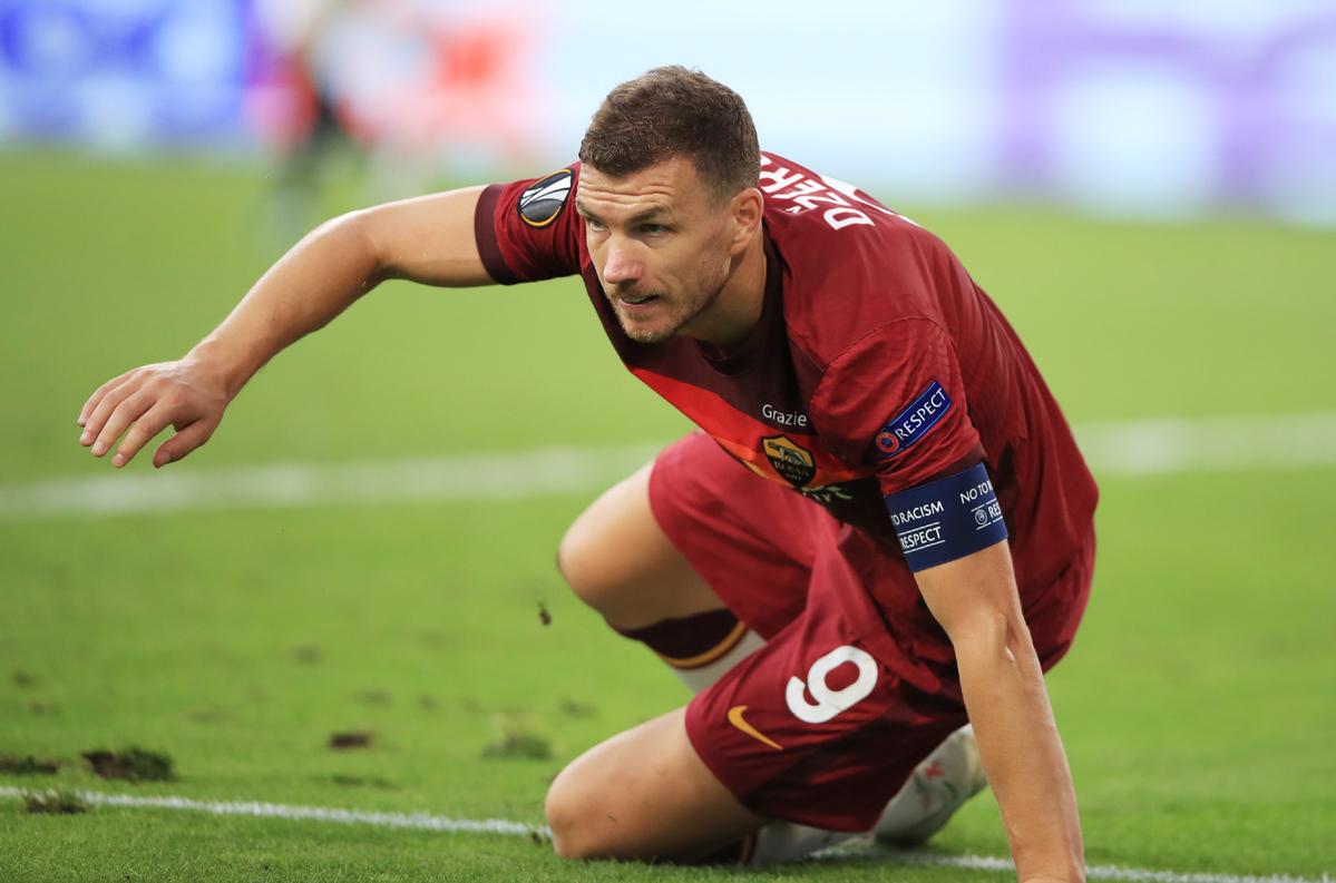 Juventus negotiating with Roma on purchase of Bosnian striker Dzeko -  Chinadaily.com.cn