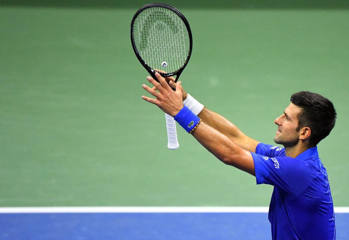 Shot Clock Frustrations Can T Slow Down Djokovic Chinadaily Com Cn