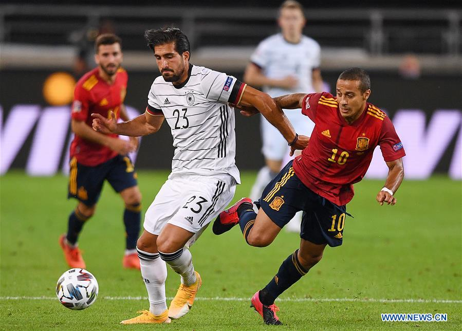 Spain Snatch Late Draw Against Germany In Uefa Nations League Chinadaily Com Cn