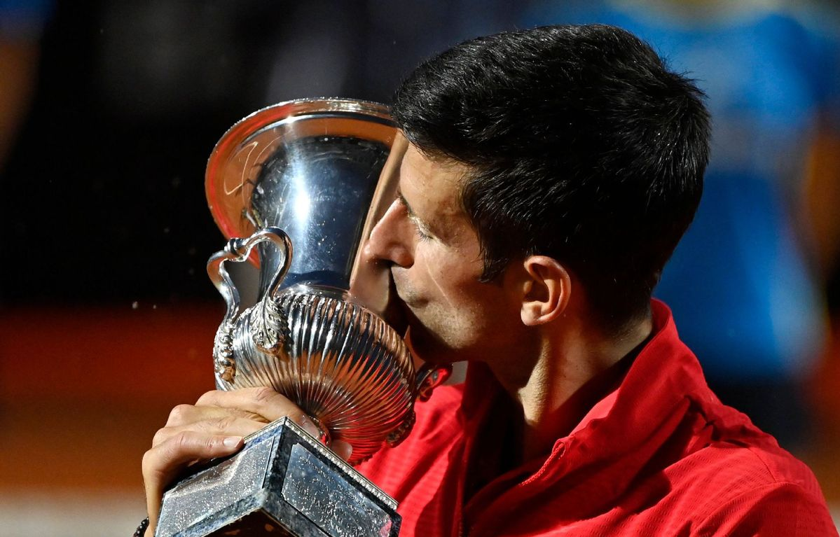 Djokovic Wins Record 36th Masters Title In Rome Chinadaily Com Cn