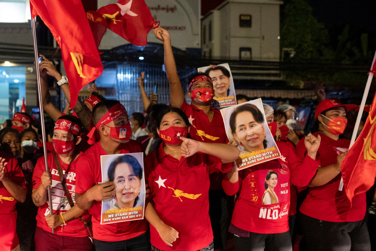 Suu Kyi's party poised to win - Chinadaily.com.cn