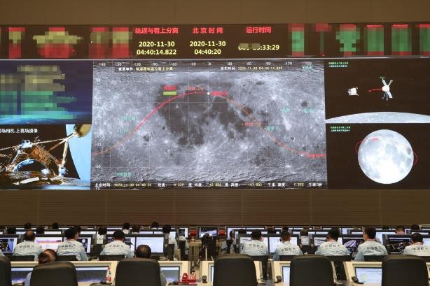 Orbiter, lander split as mission advances - Chinadaily USA