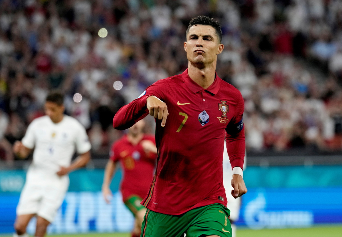 Ronaldo on brink of history after double propels Portugal -  Chinadaily.com.cn