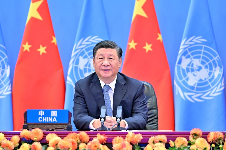 Xi's vision strikes chord with UN, world